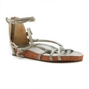 Free People Redlands Footbed Sandals, Size 8